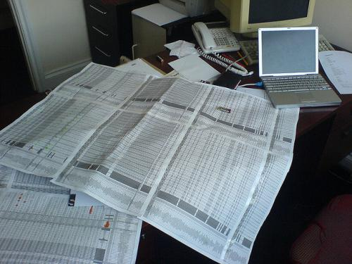 Spreadsheets can be a useful tool