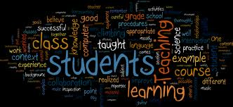 A word-cloud on education